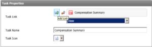 screengrab of selecting presenter report