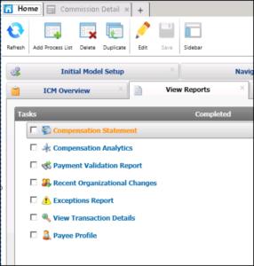 screengrab of saving process list